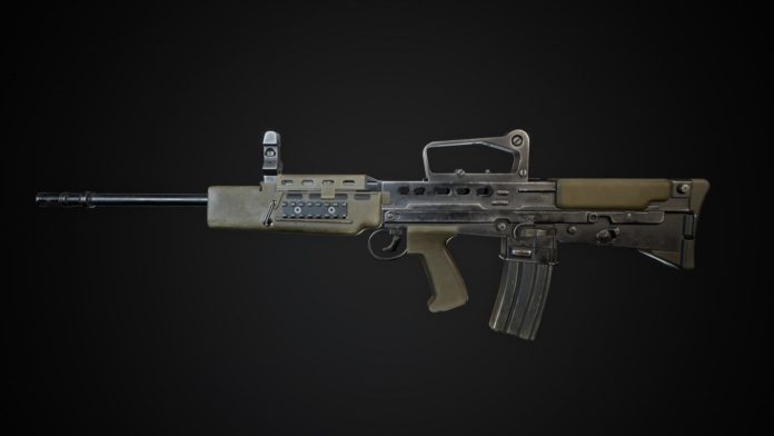 World War 3 - WARZONE GIGA PATCH - SA80