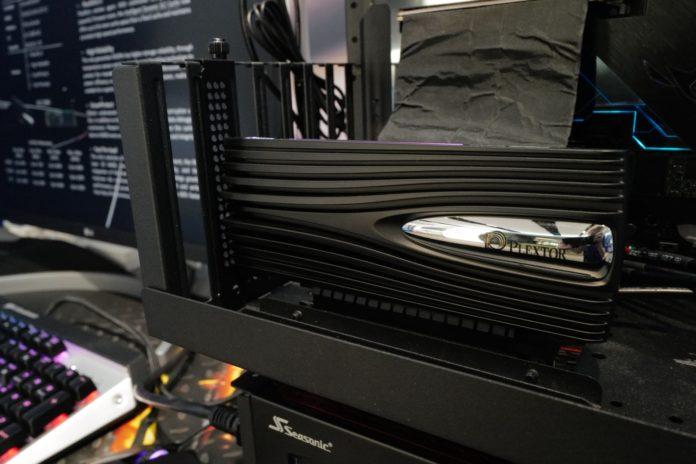 COMPUTEX 2019 - Plextor M10Pe