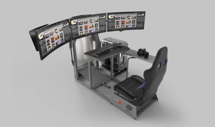 Symulator wyścigowy GTA-F Cooler Master Edition