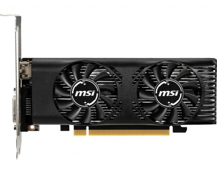 MSI GeForce GTX 1650 4GT LP OC