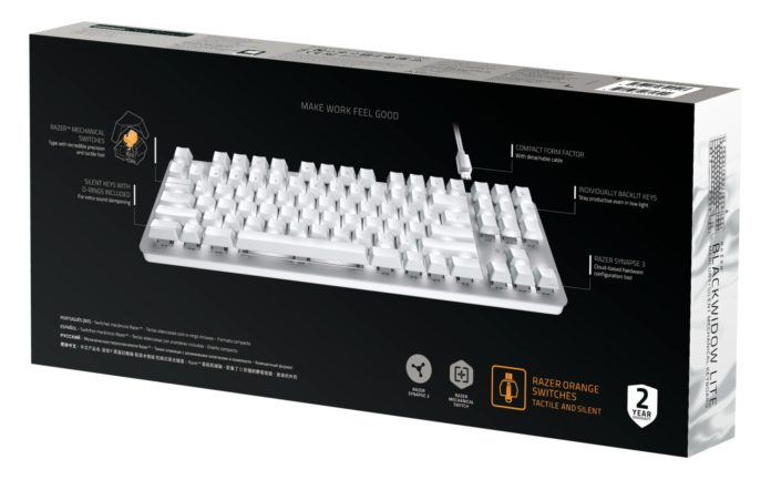 Razer BlackWidow Lite – Mercury Edition