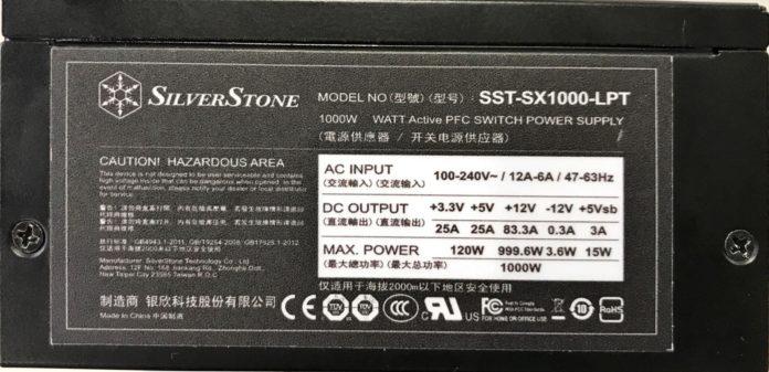 SilverStone SST-SX1000-LPT