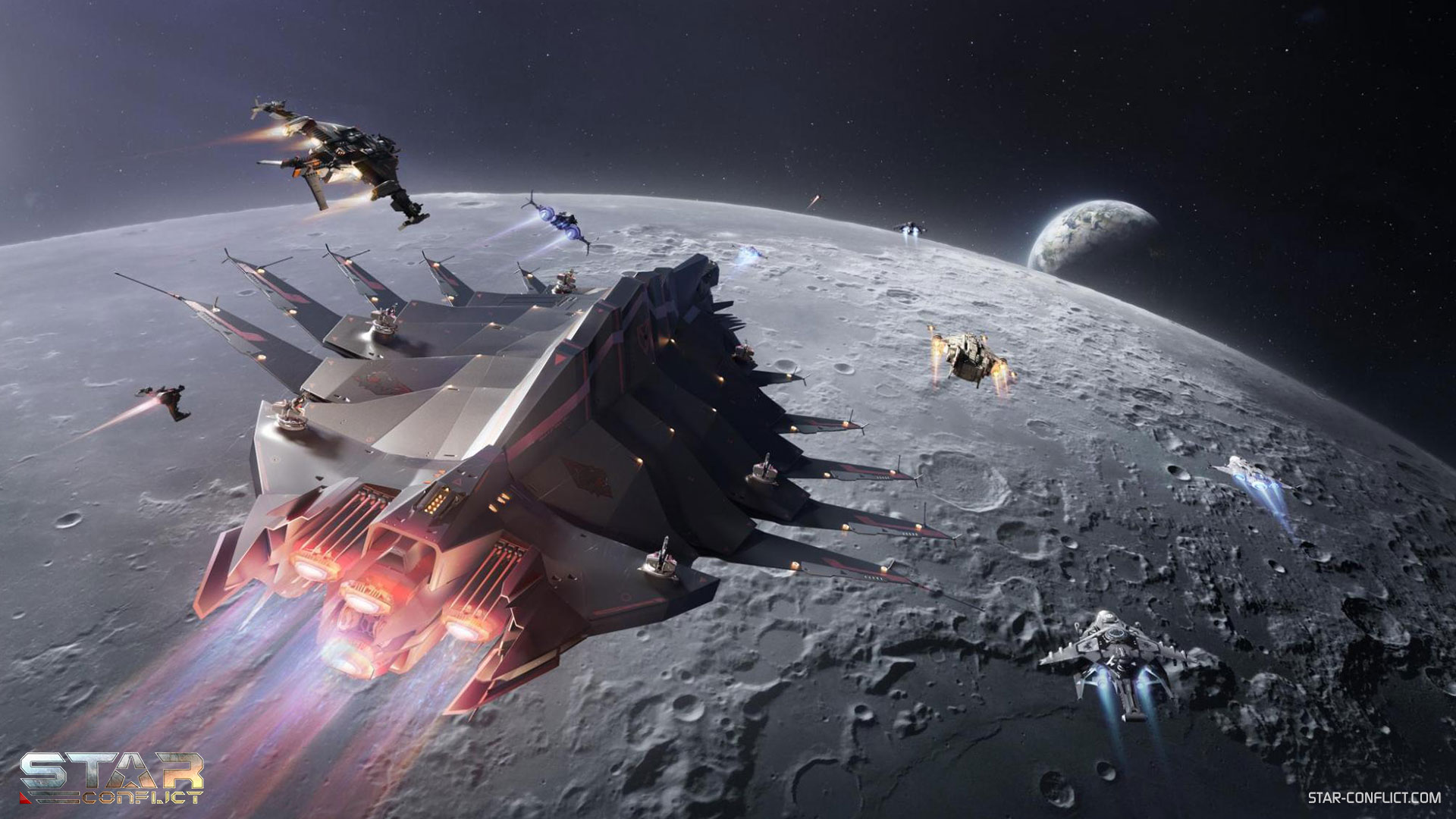 Star Conflict - Moon Race