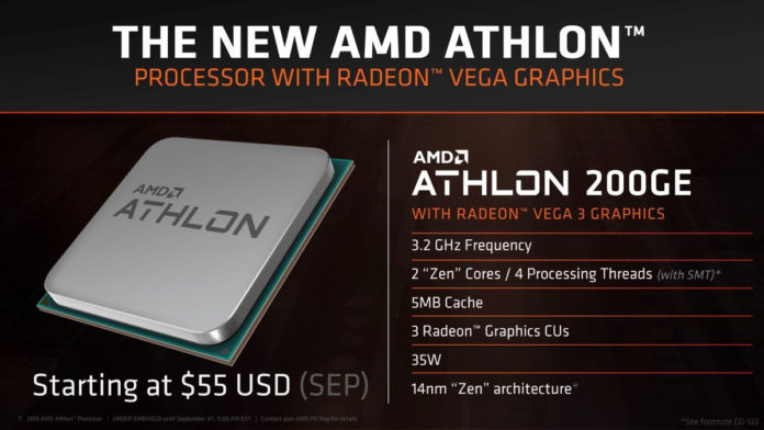 Athlon 240GE - architektura