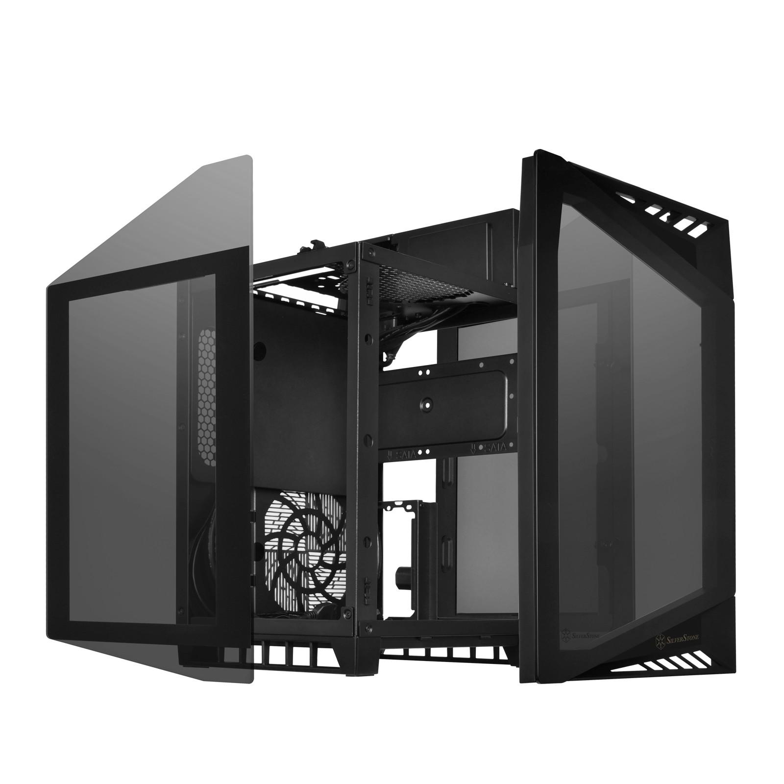SilverStone LD03 - ciekawa obudowa typu Cube w formacie mini-ITX 1