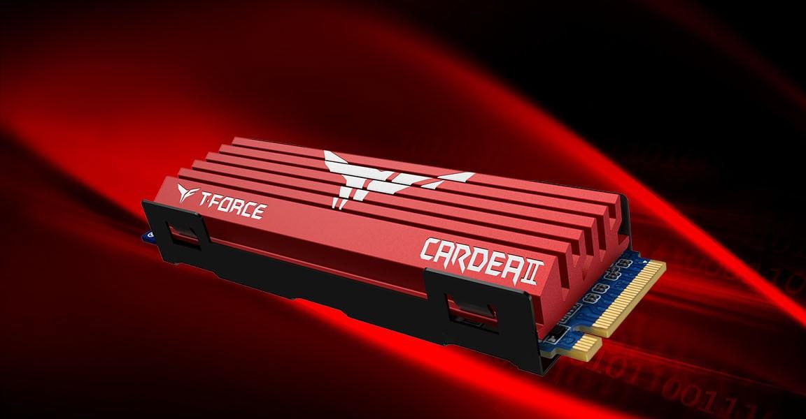 T-FORCE CARDEA II M.2 - nowy dysk SSD z dużym radiatorem 1