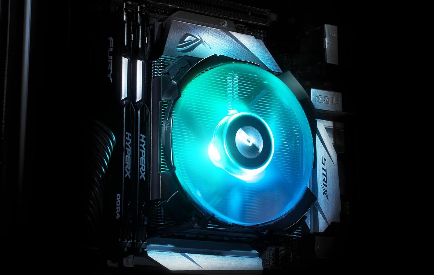 Cryorig C7 RGB - aluminiowe chłodzenie mini-ITX z diodami RGB 2