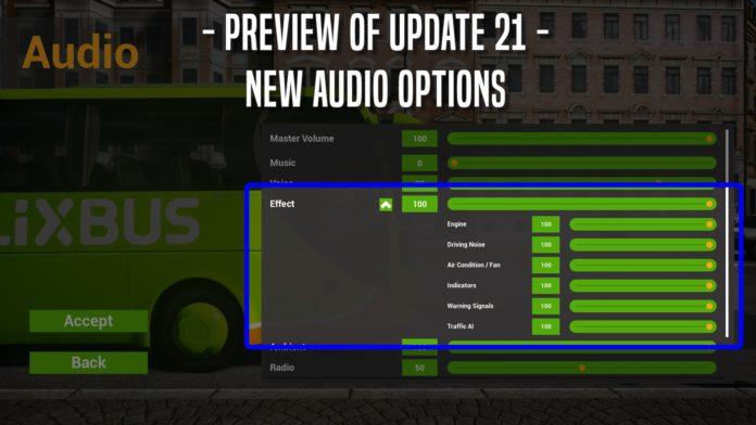 Fernbus Coach Simulator - update 21