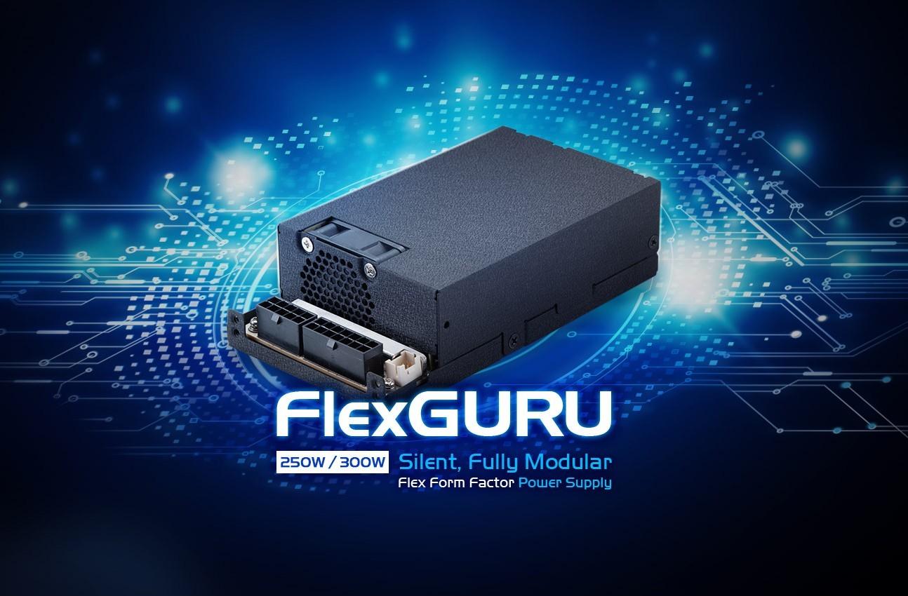 FSP FlexGURU - malutkie modularne zasilacze Flex ATX 3
