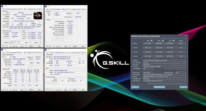 G.Skill Trident Z Neo DDR4 w opcji z taktowaniem 3800 MHz 1