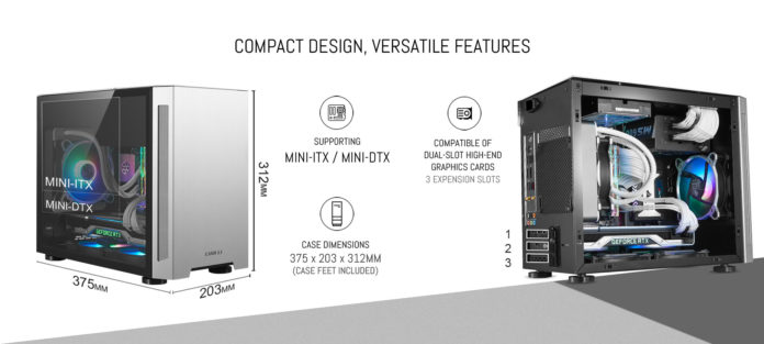 Lian Li TU150 - obudowa mini-ITX z aluminium i hartowanego szkła 1