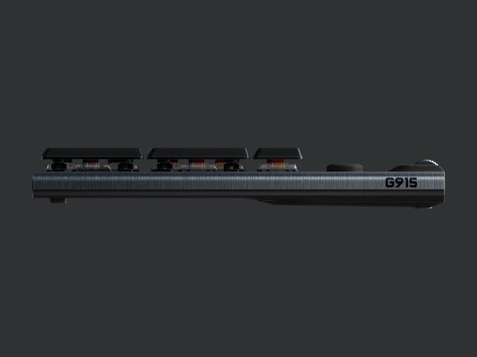 Logitech G915 Lightspeed Wireless - nowa klawiatura mechaniczna 2