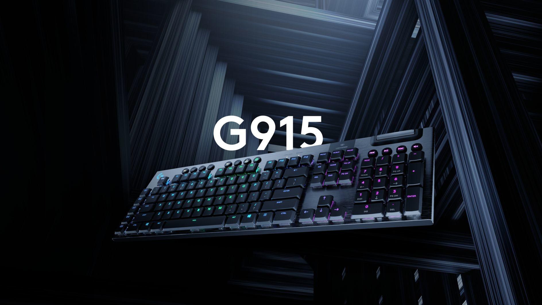 Logitech G915 Lightspeed Wireless - nowa klawiatura mechaniczna 1
