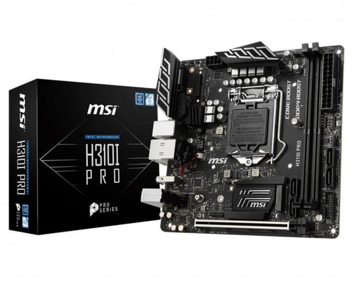 MSI H310I PRO