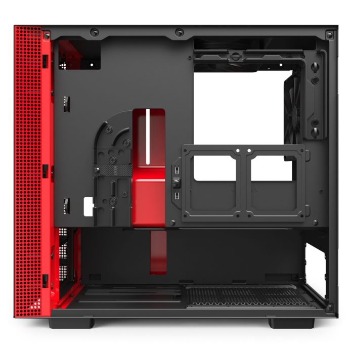 NZXT H210 - Black Red