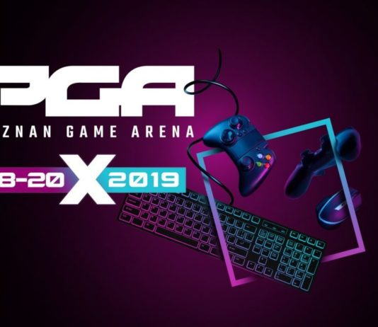 Poznań Game Arena 2019 - nowa strona
