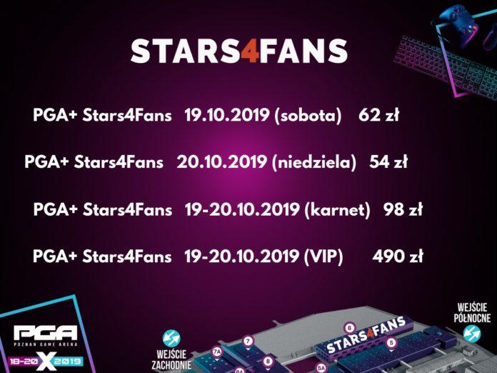 Poznań Game Arena 2019 - Stars4Fans