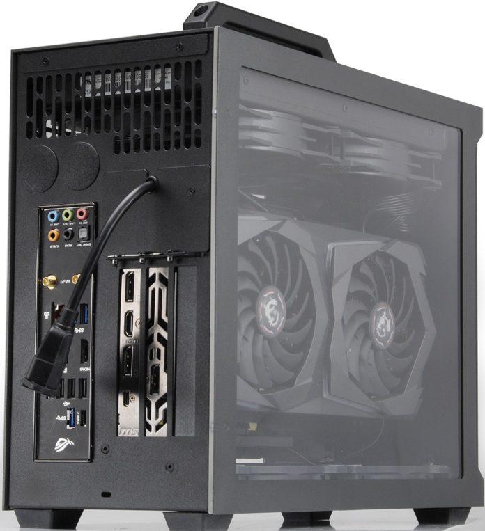 Sliger SM580 – ciekawa obudowa mini-ITX z modułami bocznymi 10