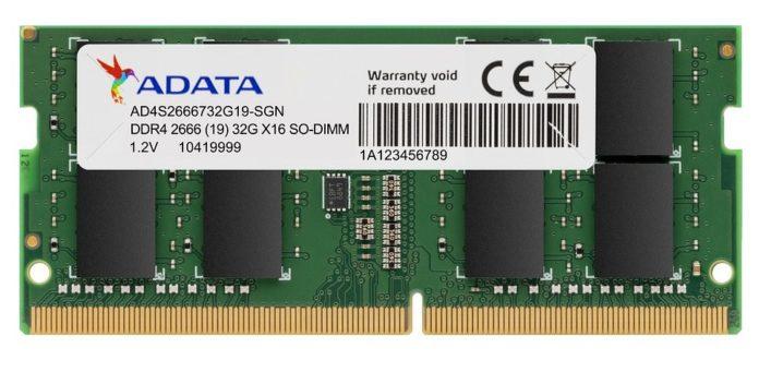 ADATA DDR4-2666 SO-DIMM 32 GB
