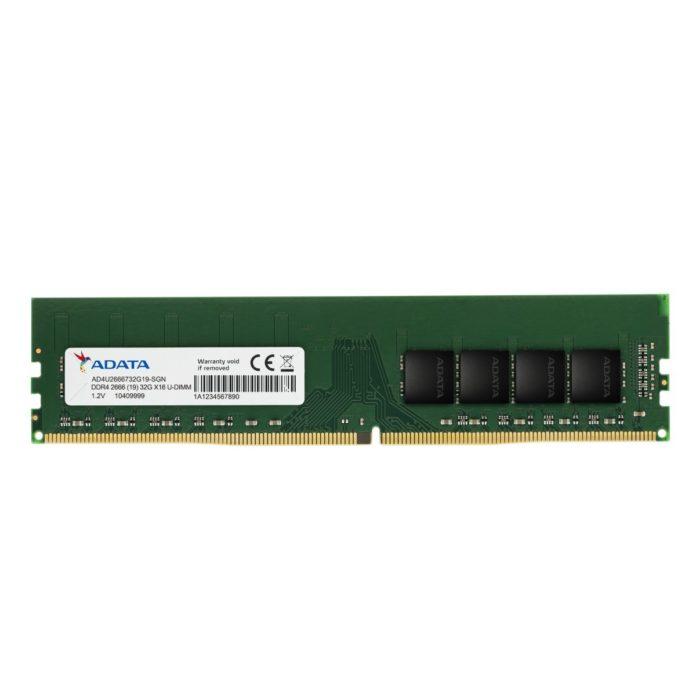 ADATA DDR4-2666 U-DIMM 32 GB i ADATA DDR4-2666 SO-DIMM 32 GB 1