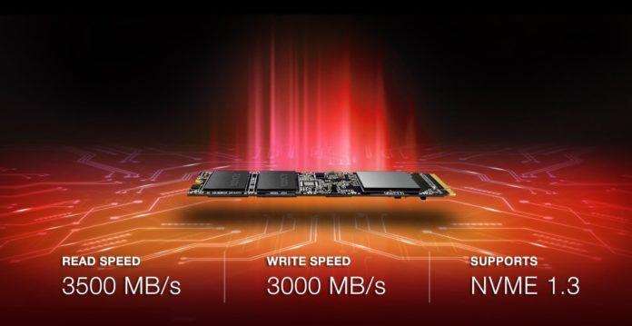 ADATA XPG SX8100 - nowy dysk SSD ze złączem PCIe 3.0 1