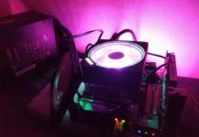 AMD Wraith Prism RGB - podświetlenie