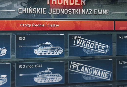 Chińskie pojazdy w grze War Thunder! Nowe drzewko rozwoju 2