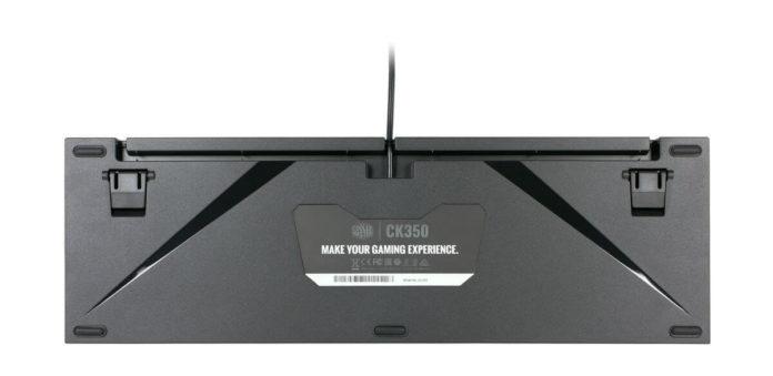 Cooler Master CK350 - klawiatura mechaniczna z przełącznikami Outemu 2