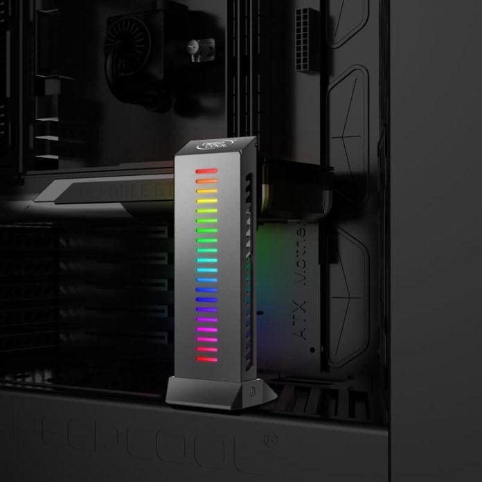 Deepcool GH-01 A-RGB - kolorowa podpórka na karty graficzne 4