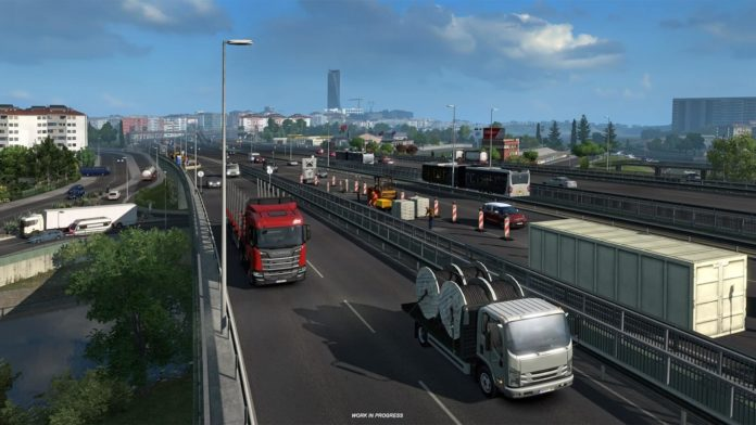Euro Truck Simulator 2 - Road to the Black Sea - Tracja
