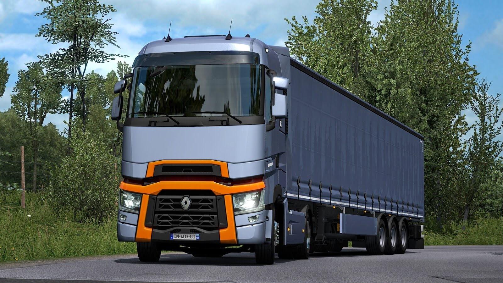 Renault Trucks T Range - nowa ciężarówka w grze Euro Truck Simulator 2 1