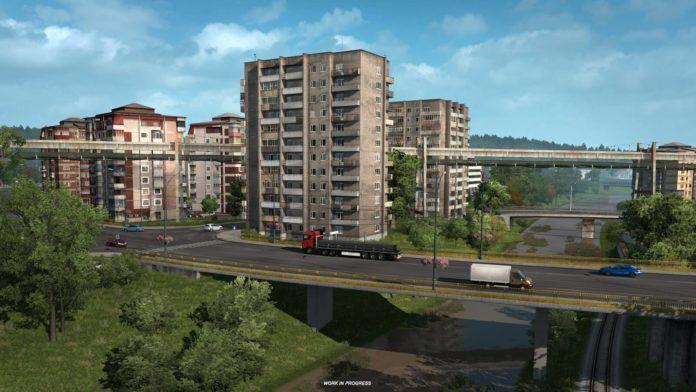 Euro Truck Simulator 2 - Road to the Black Sea - rumuńskie miasta