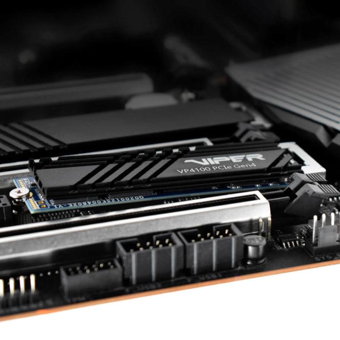 Patriot Viper VP4100 - dysk SSD na interfejsie PCIe Gen4 x4 3
