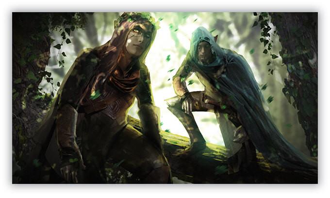 Solasta: Crown of the Magister - poznajemy historię elfów i krasnoludów 2