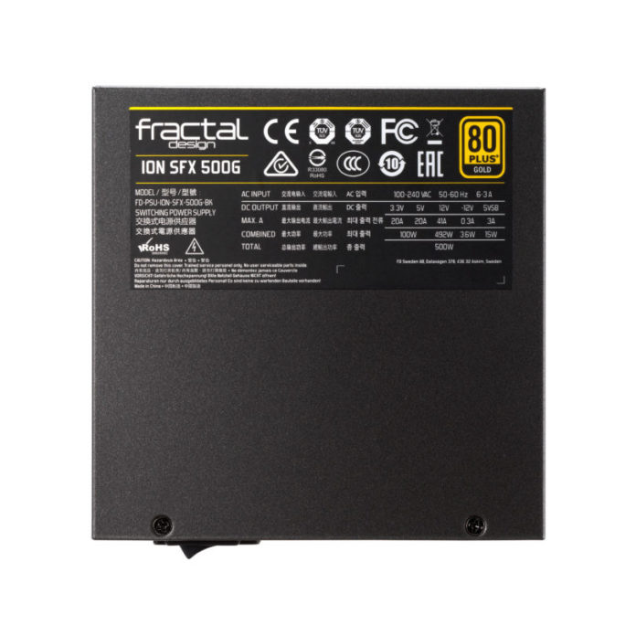 Fractal Design Ion SFX-L 500W Gold