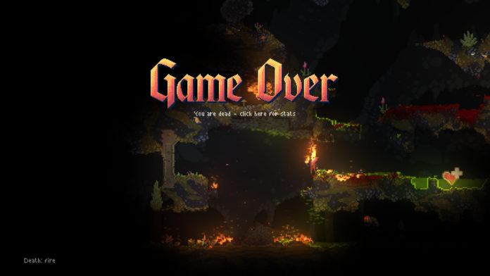 Noita - Game Over