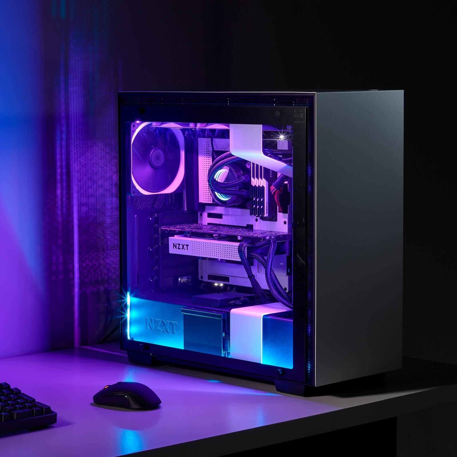 NZXT HUE 2 RGB Lighting Kit - system oświetlenia z łatwym montażem 3