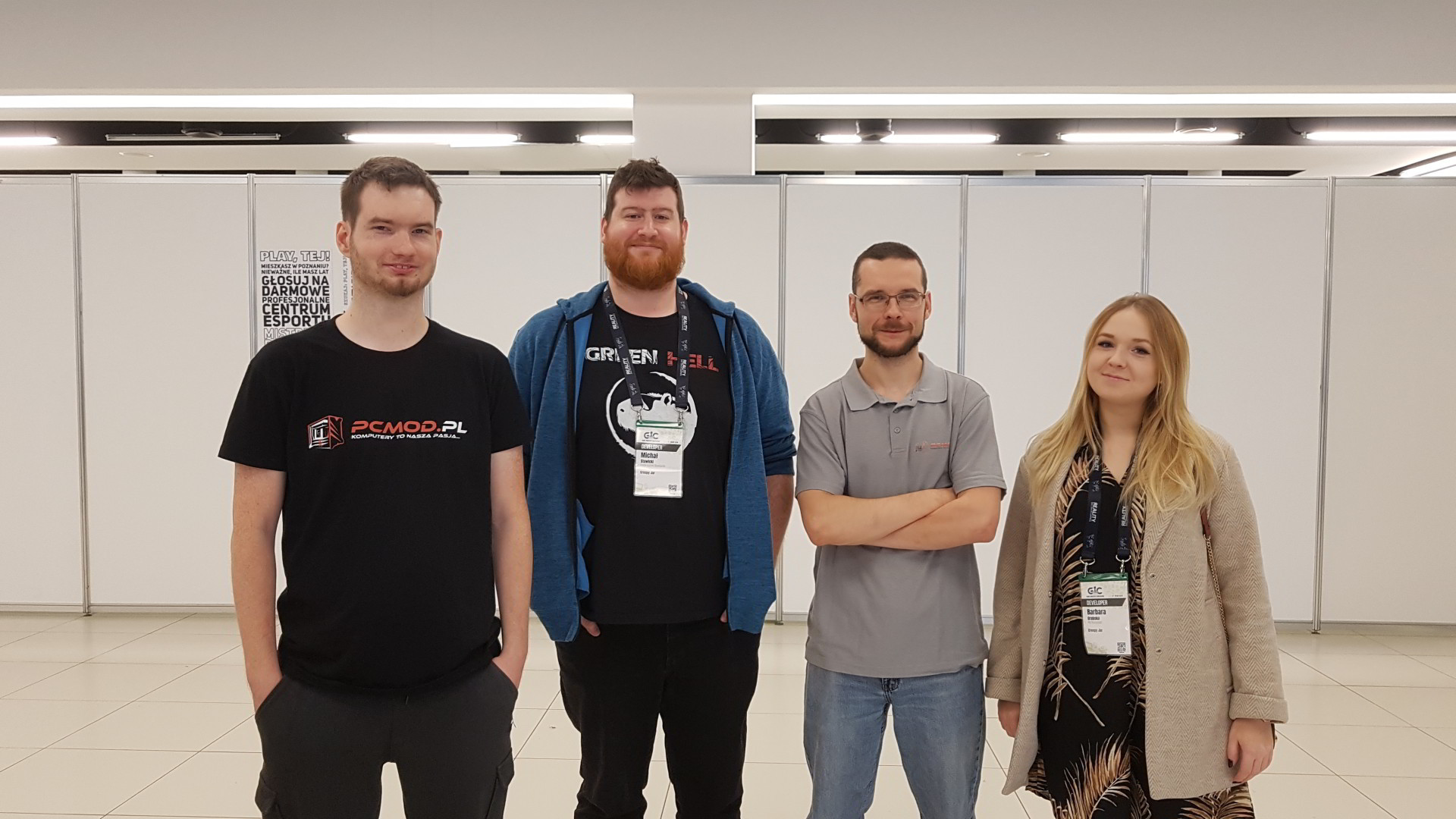 Poznań Game Arena 2019 - Creepy Jar i Green Hell