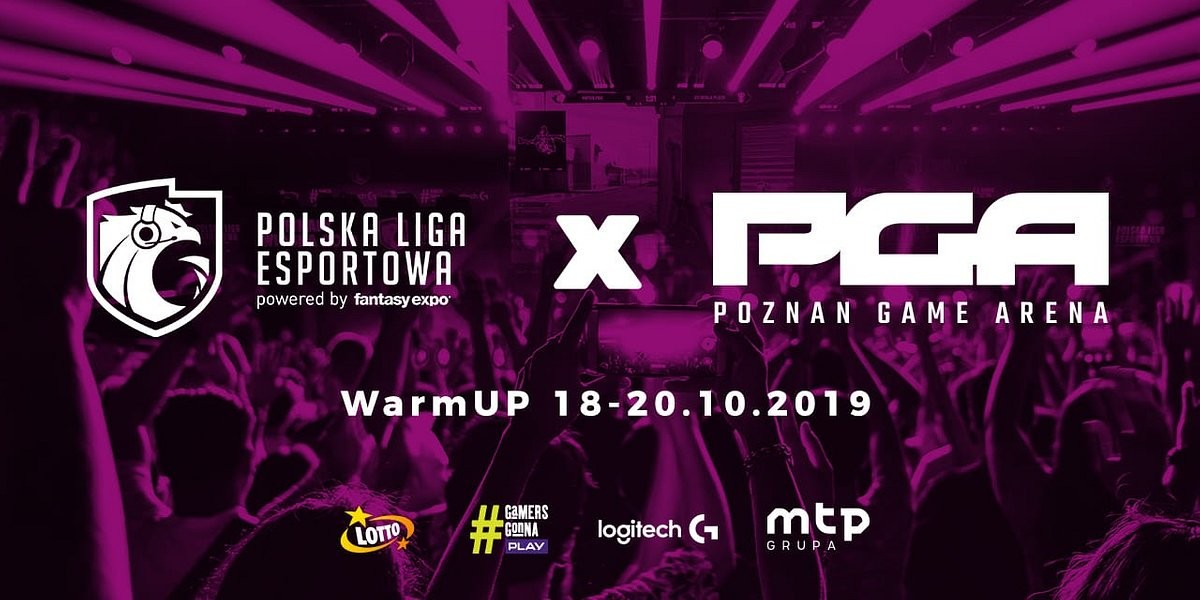 Inauguracja Polskiej Ligi Esportowej sezonu jesiennego odbędzie się na PGA 2019! 5