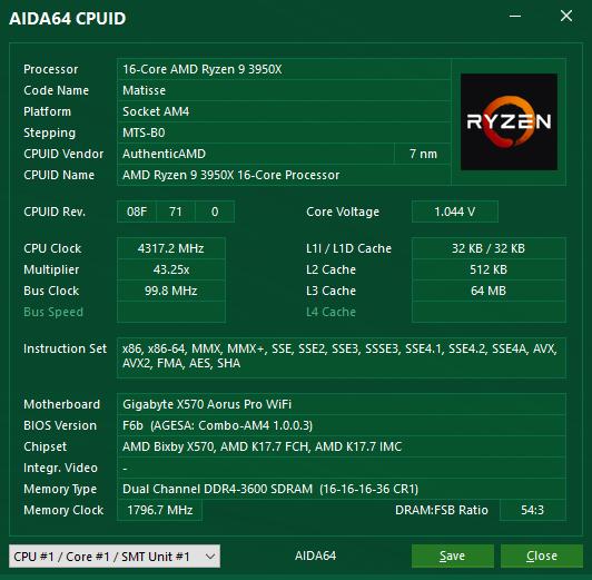 AIDA64 6.20