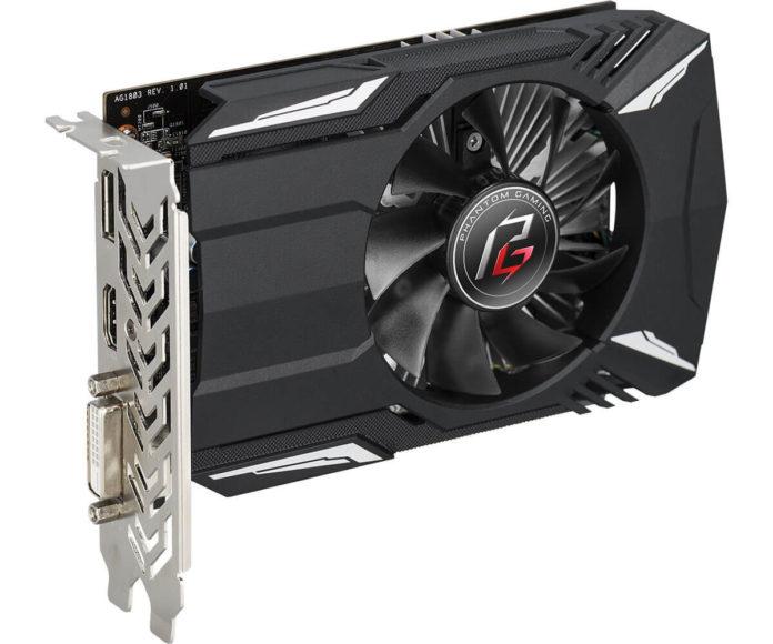 ASRock Phantom Gaming Radeon 550 2G - karta graficzna mini-ITX 1