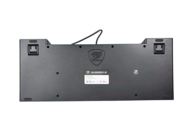 Cougar Aurora S - testy podświetlanej klawiatury dla graczy 1
