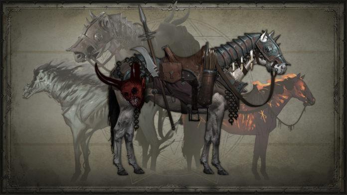 Diablo IV - koncept wierzchowca