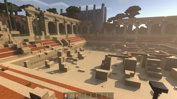Minecraft Windows 10 Edition - pokaz na żywo z ray-tracingiem 12