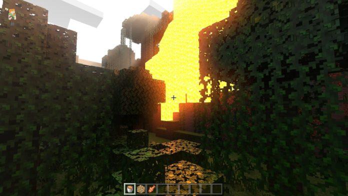 Minecraft Windows 10 Edition - pokaz na żywo z ray-tracingiem 8