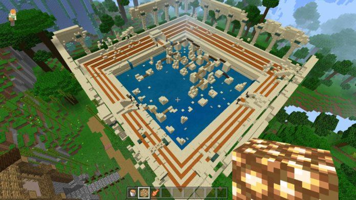 Minecraft Windows 10 Edition - pokaz na żywo z ray-tracingiem 22