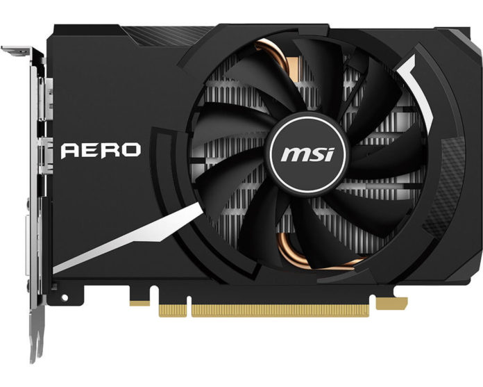 MSI GeForce GTX 1650 SUPER AERO ITX