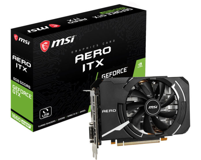 MSI GeForce GTX 1660 SUPER AERO ITX