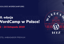 WordCamp Łódź 2019