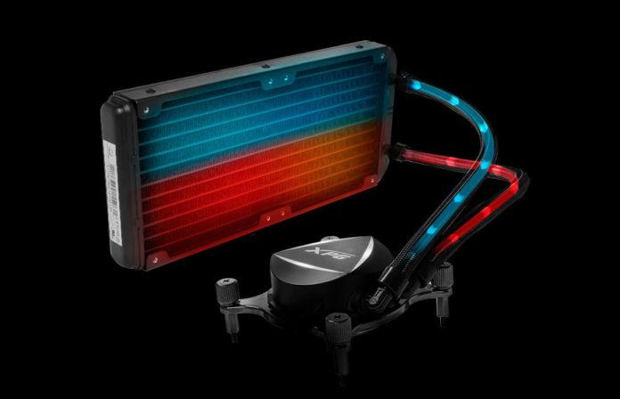 XPG Levante - chłodzenie wodne z podświetleniem aRGB LED 2